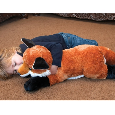 Jumbo Red Fox Plush