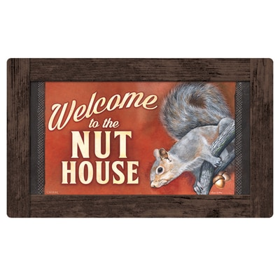 Nut House Welcome Mat