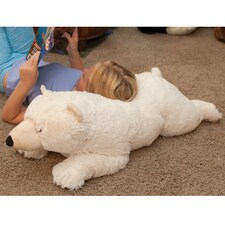 Jumbo Polar Bear Plush