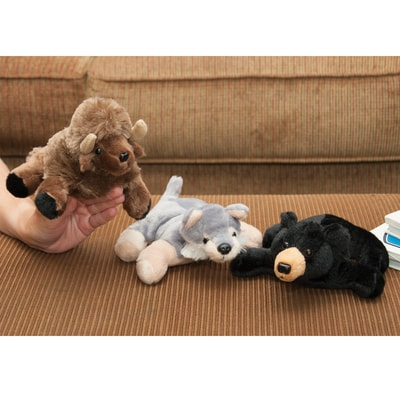 Wildlife Collection Finger Puppets Set