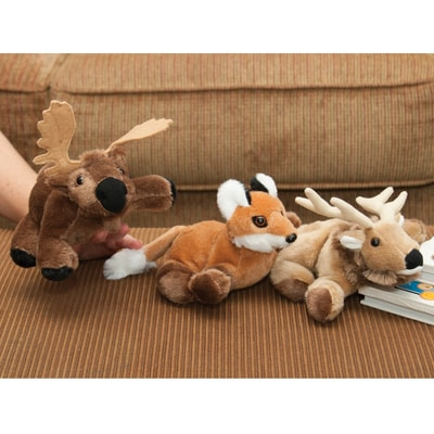 North Woods Collection Finger Puppets Set