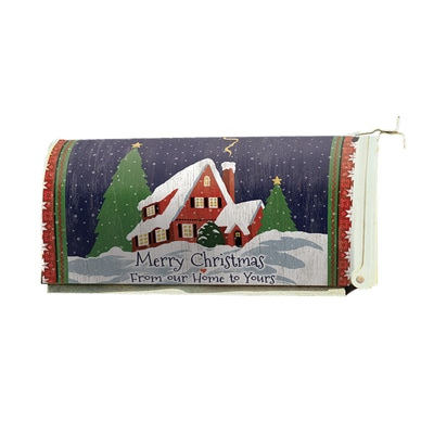 Merry Christmas Mailbox Cover