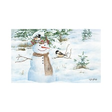 Snowy Friends Doormat