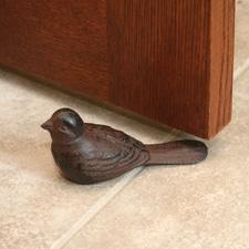 Bird Cast Iron Door Stop