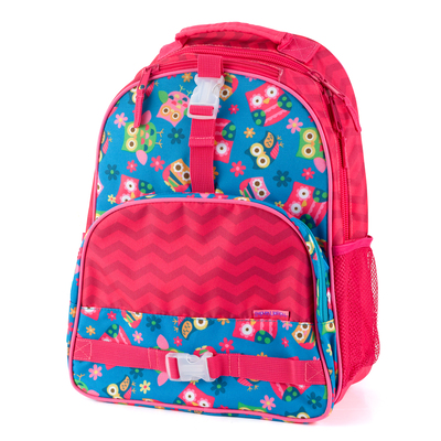 Pink Owl Collection Backpack