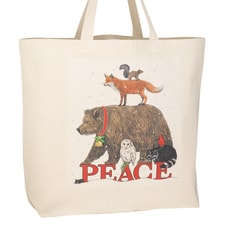 Woodland Peace Tote Bag
