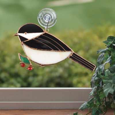 Chickadee Suncatcher