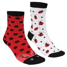 Lady Bug Socks Set