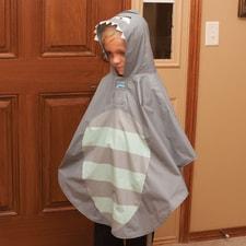 Shark  Rain Poncho