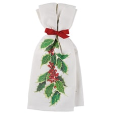 Holly and Berries Towel Set