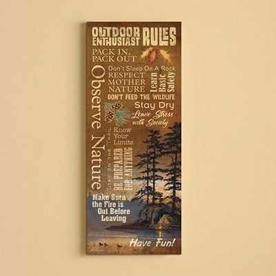 Great Outdoors Wall Art