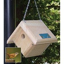 Hanging Wren Nesting Box