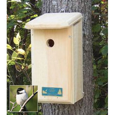 Chickadee Nesting Box