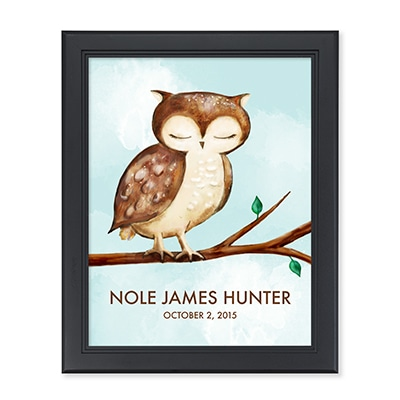 Woodsy Owl Personalized Wall Art