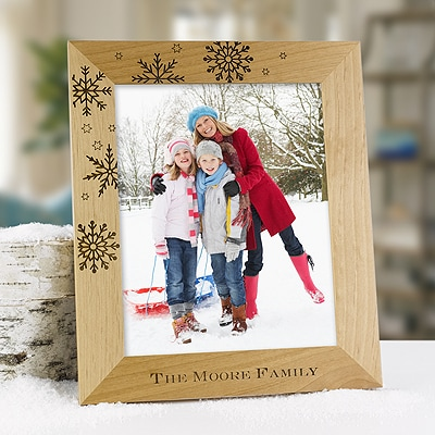 Snowflake Personalized Frame