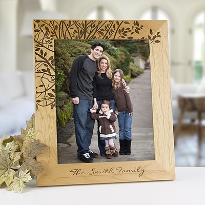 Bountiful Branch Personalized Frame