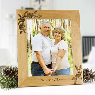 Pine Spray Personalized Frame