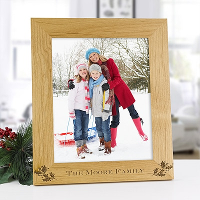 Holly Personalized Frame