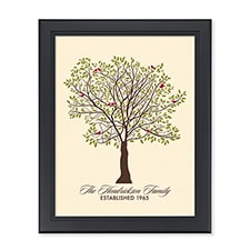 Family Tree Personalized Wall Art