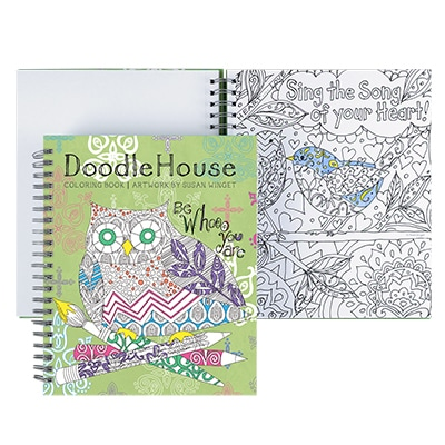 Doodle House Coloring Book