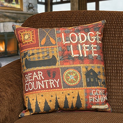 Lodge Life Pillow
