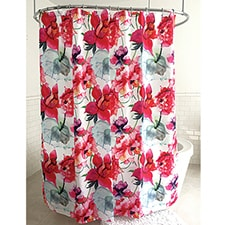 Opulent Roses Shower Curtain