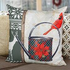 Christmas Garden Pillow