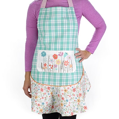 Wildflower Ruffle Apron