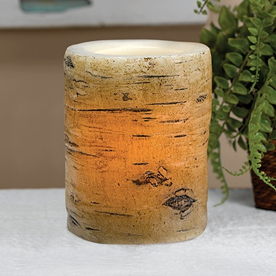 Birch Bark LED 4