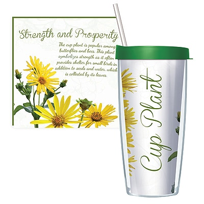 Cup Plant Travel Tumbler