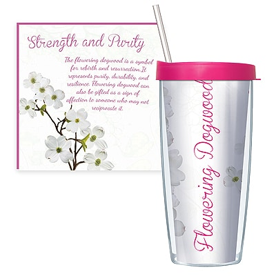 Flowering Dogwood Travel Tumbler