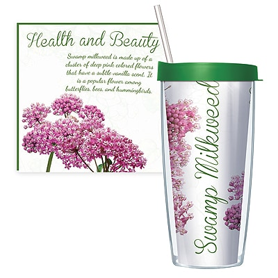 Swamp Milkweed Travel Tumbler