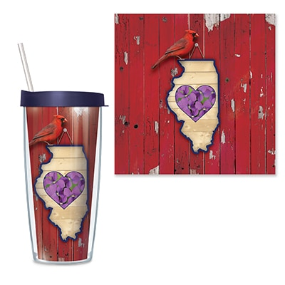 Illinois Travel Tumbler
