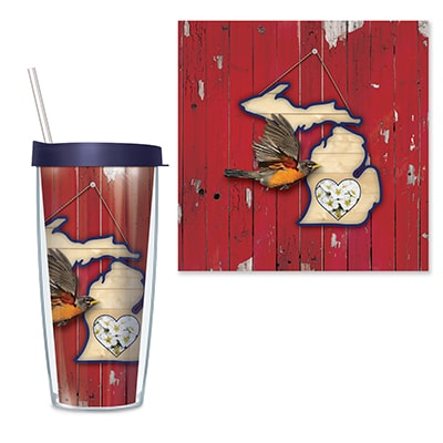 Michigan Travel Tumbler