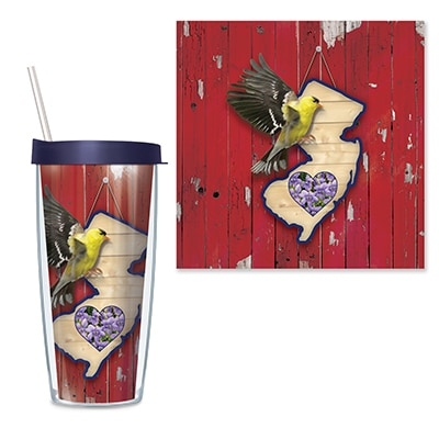 New Jersey Travel Tumbler
