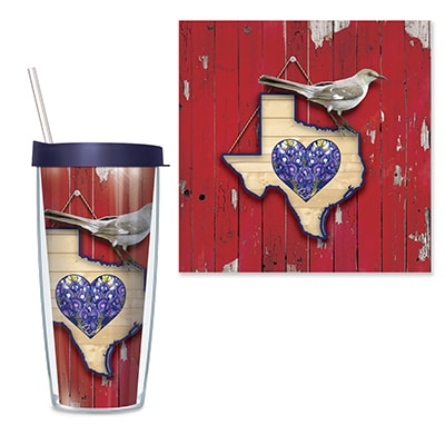 Texas Travel Tumbler