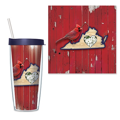 Virginia Travel Tumbler