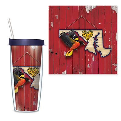 Maryland Travel Tumbler