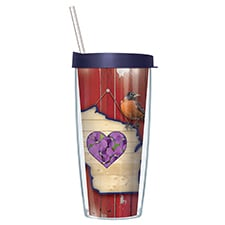 Wisconsin Travel Tumbler