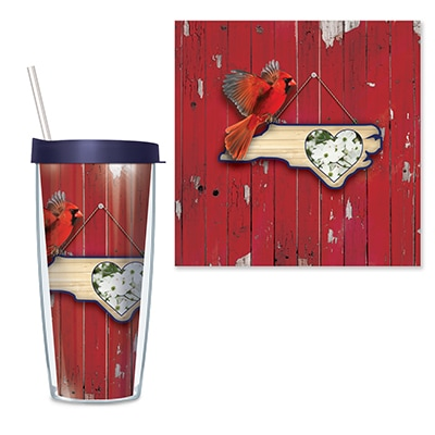 North Carolina Travel Tumbler