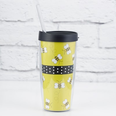 Bumble Bee Travel Tumbler