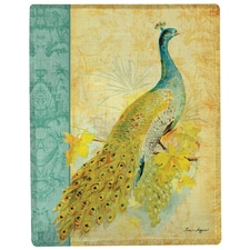 Peacock Tapestry Throw