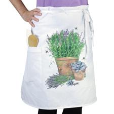 Lavender Bistro Apron