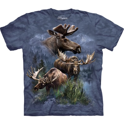 Moose Collage Tee