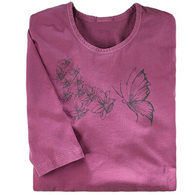 Butterfly Whimsy Organic Tee