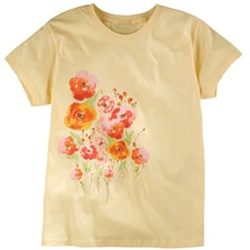 Painted Poppies Tee