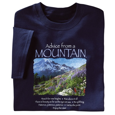 Advice from the Mountain Tee