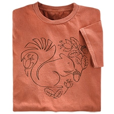 Squirrel Organic Tee