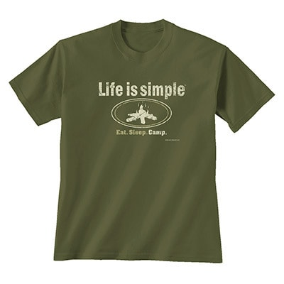 Life is Simple - Camp Tee