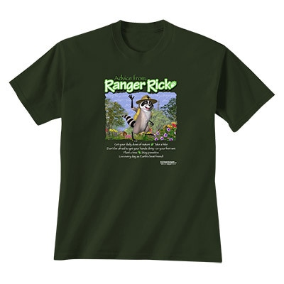 Advice from Ranger Rick Adult Tee